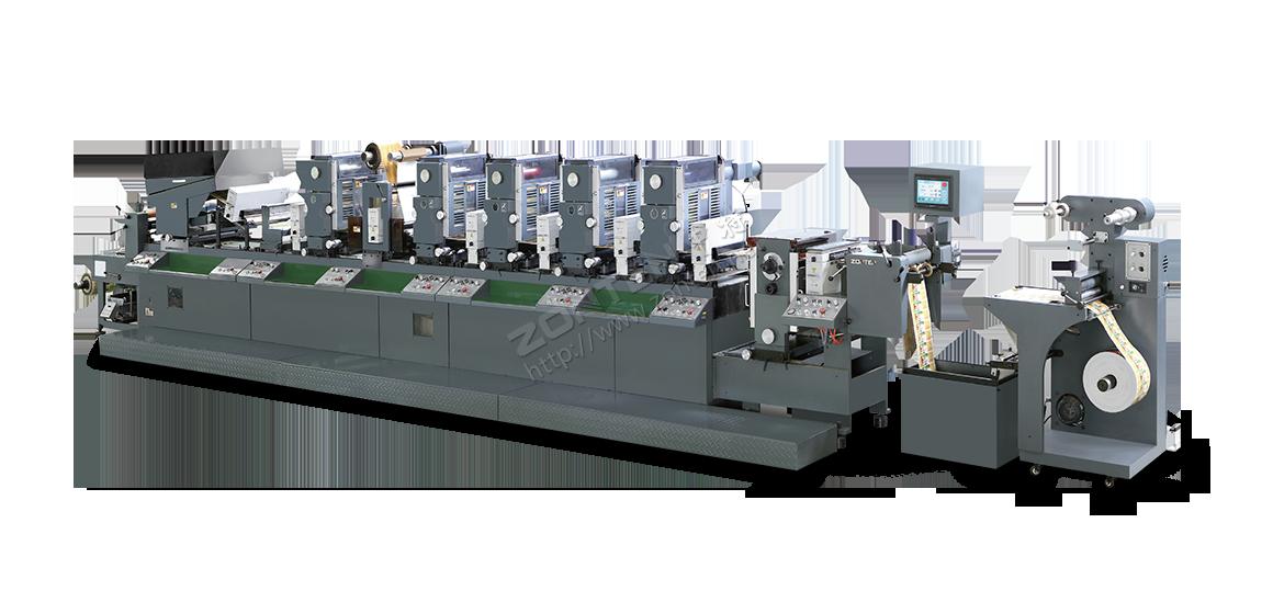 SMART-320 超霸 间歇式一全轮转两用树脂版标签印刷机