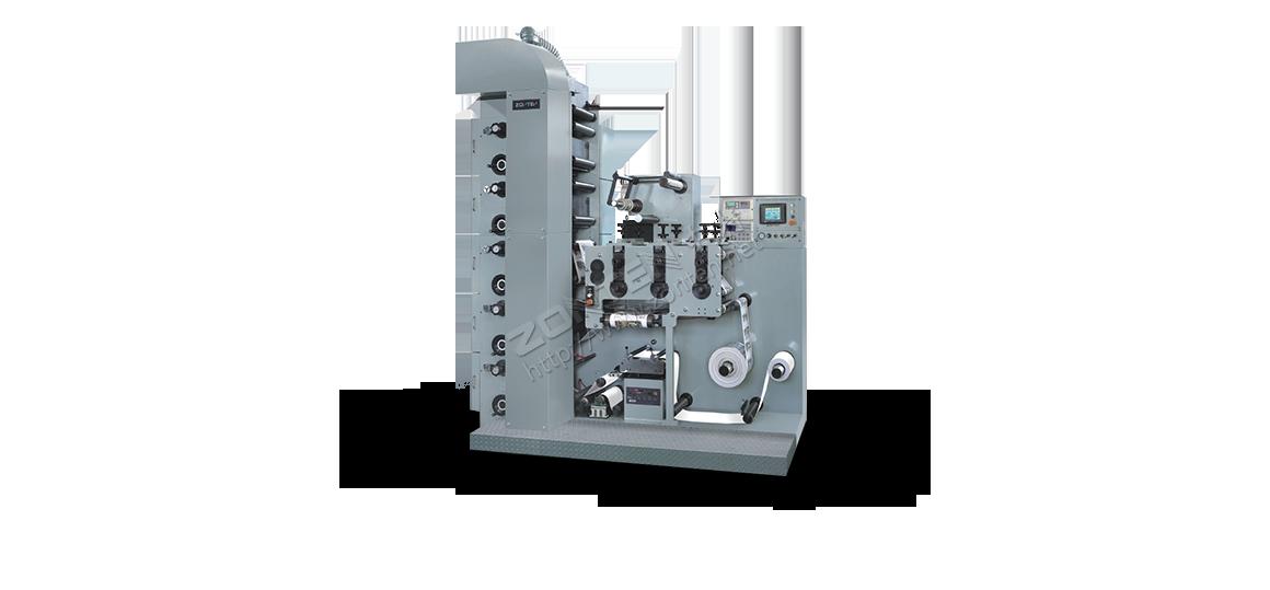 LRY-330/450 层叠式柔版印刷机